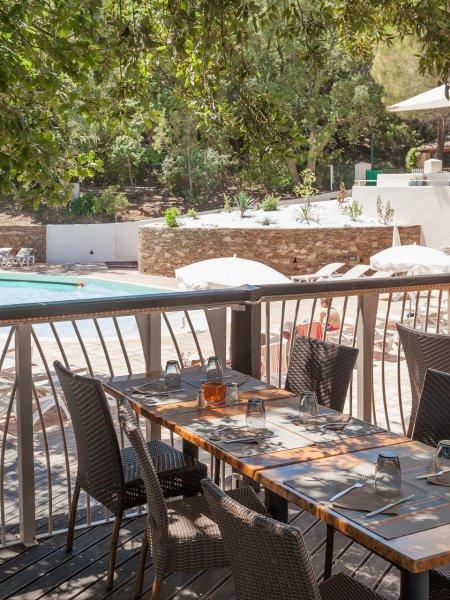 Restauration Les Restanques du Golfe de St-Tropez Baie de Saint-Tropez