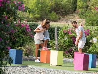 Minigolf (extérieur) Les Rivages du Parc Menton