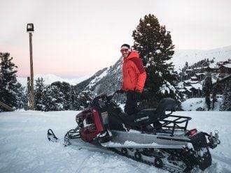 Moto neige Pas de la Casa Alaska Andorre