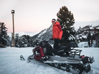 Snowmobile Pas de la Casa Alaska Andorra