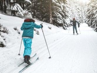 Ski de fond Aiguille Chamonix