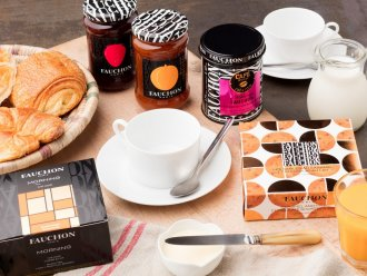 FAUCHON Paris breakfast Les Terrasses d'Eos Flaine