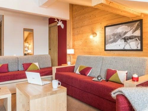 Alojamiento en Estándar Apartamentos premium Les Chalets du Forum