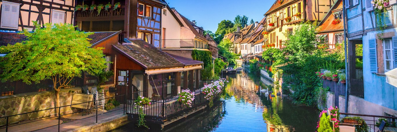 Panoramic visual Colmar