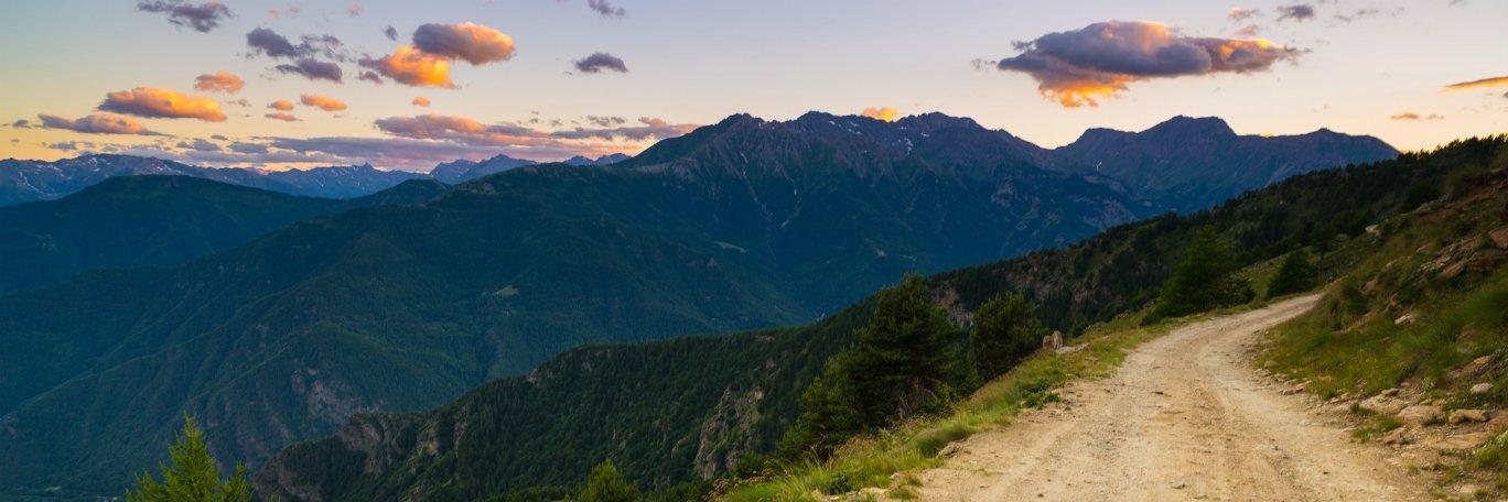 Panoramisch uitzicht Piémont