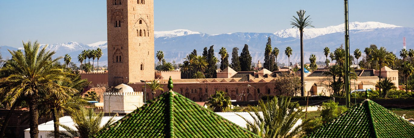 Panoramic visual Marrakech