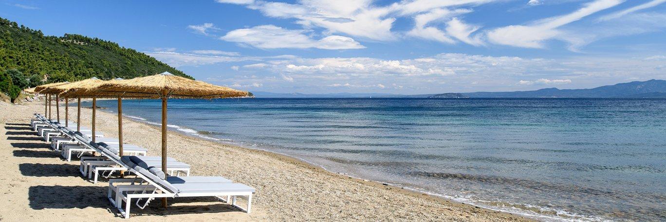 Panoramaaufnahme Paliouri