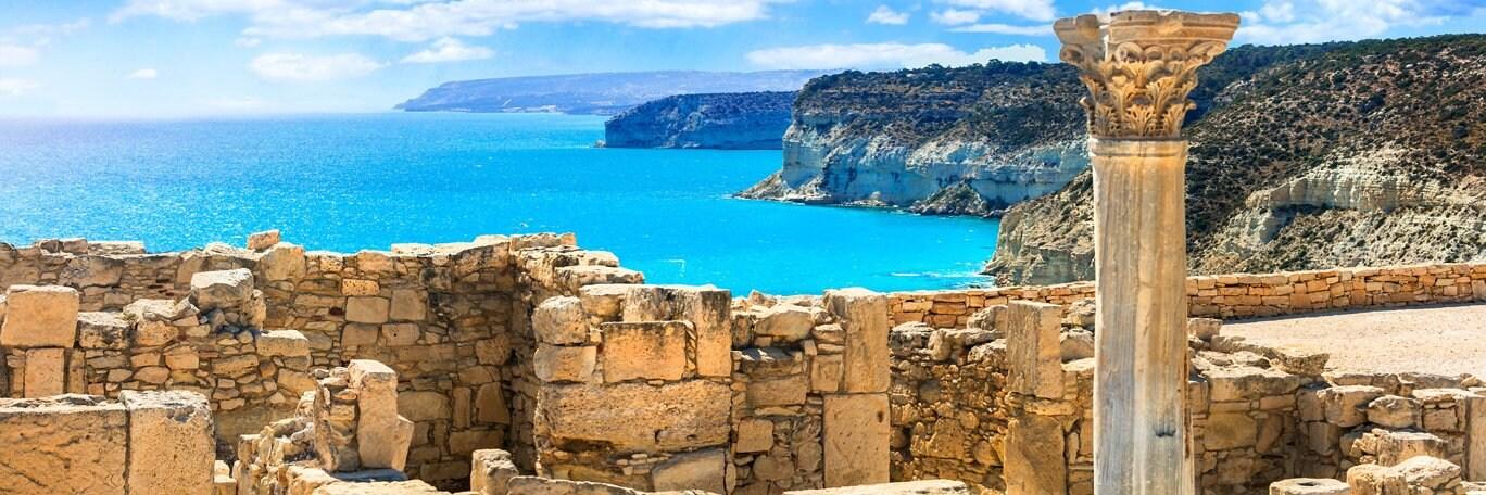 Panoramisch uitzicht Cyprus