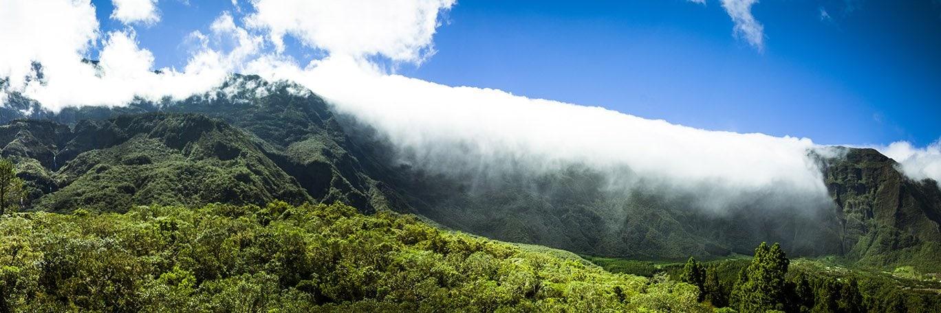 Panoramisch uitzicht Cilaos