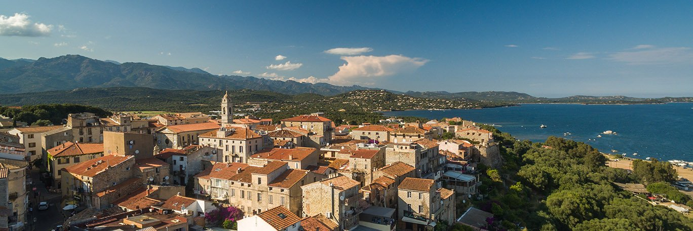 Panoramic visual Porto Vecchio