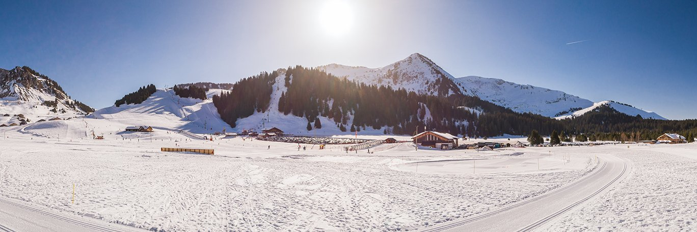 Panoramic visual Le Praz-de-Lys