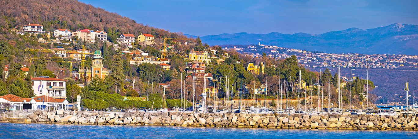 Panoramic visual Icici Opatija