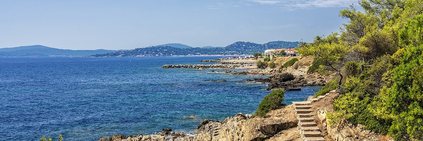 Panoramic visual Bay of Saint-Tropez - Les Issambres
