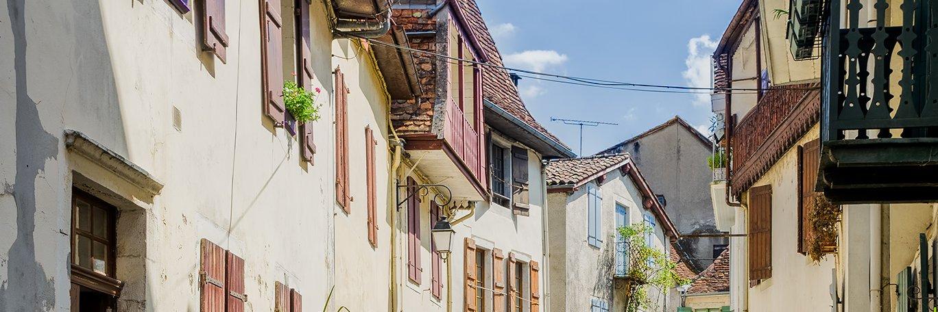 Visuel panoramique Salies de Béarn