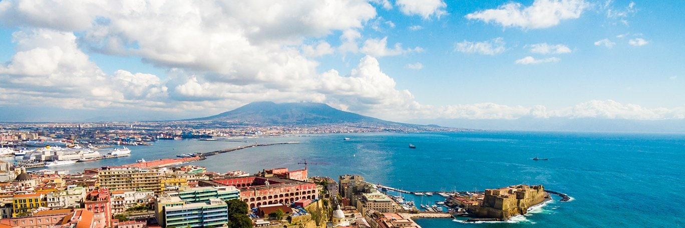 Visuel panoramique Naples