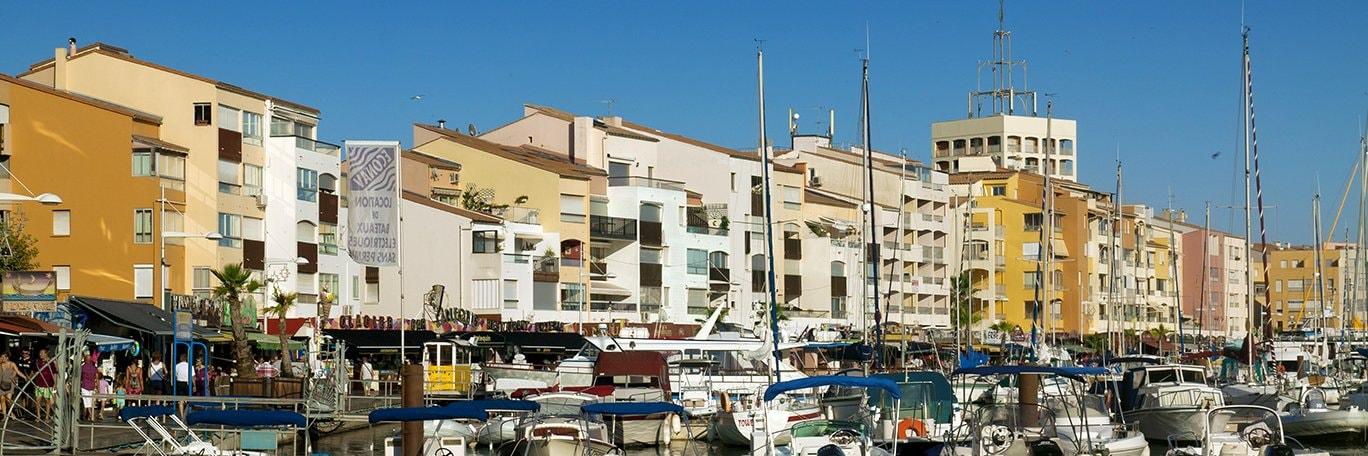 Visuel panoramique Le Cap-d'Agde