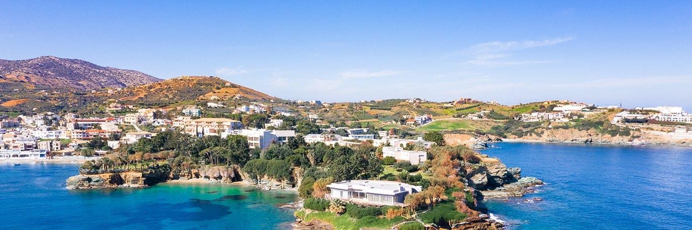 Visuel panoramique Agia Pelagia