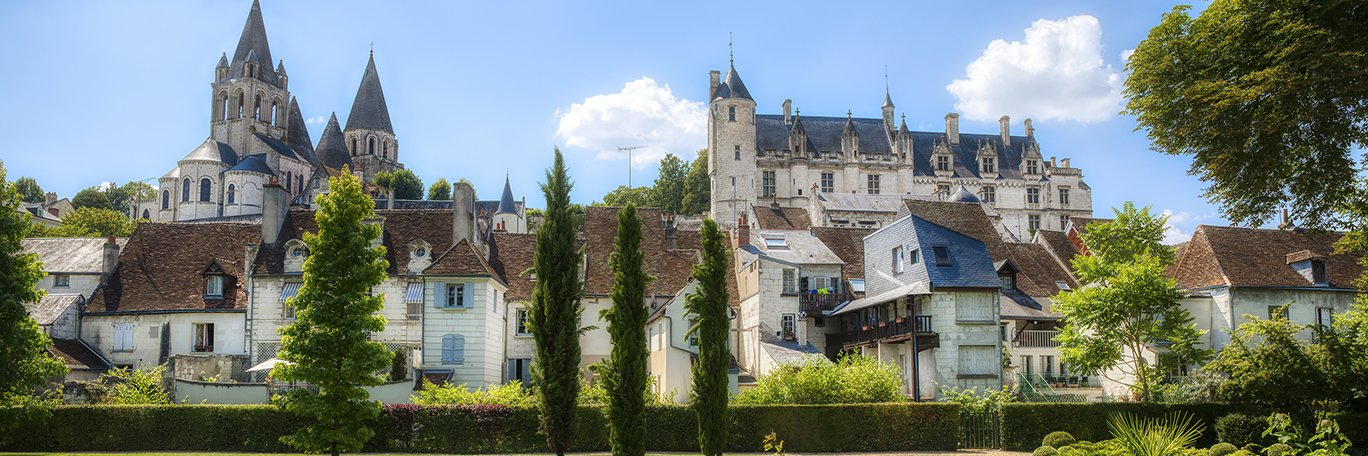Vista panorámica Loches