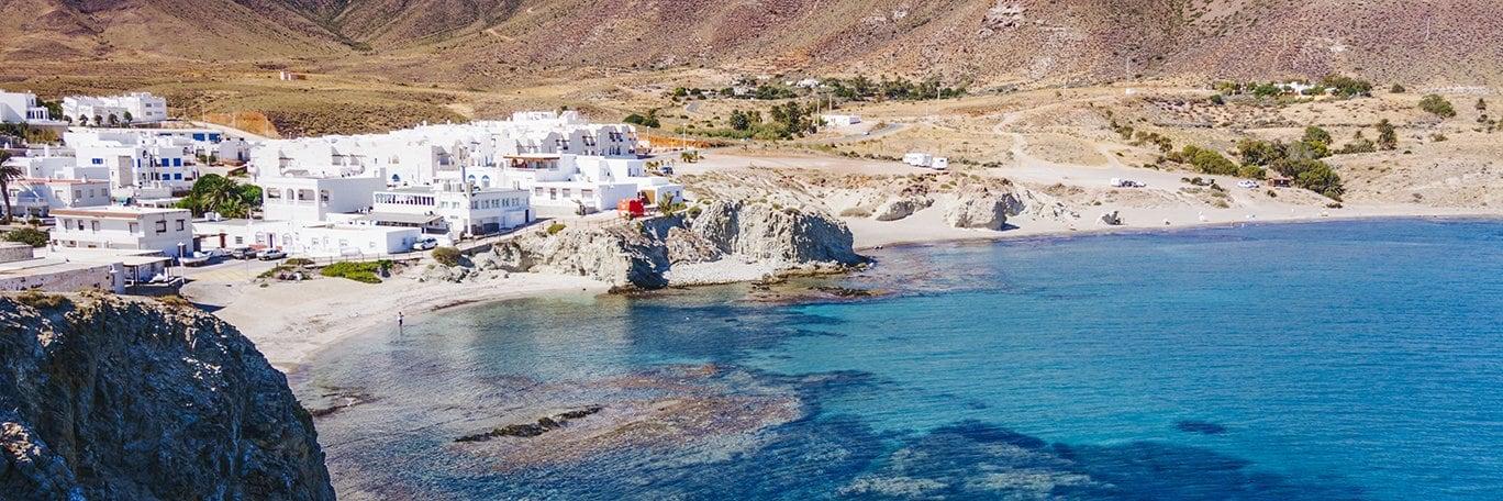 Vista panorámica Almería - Roquetas de Mar