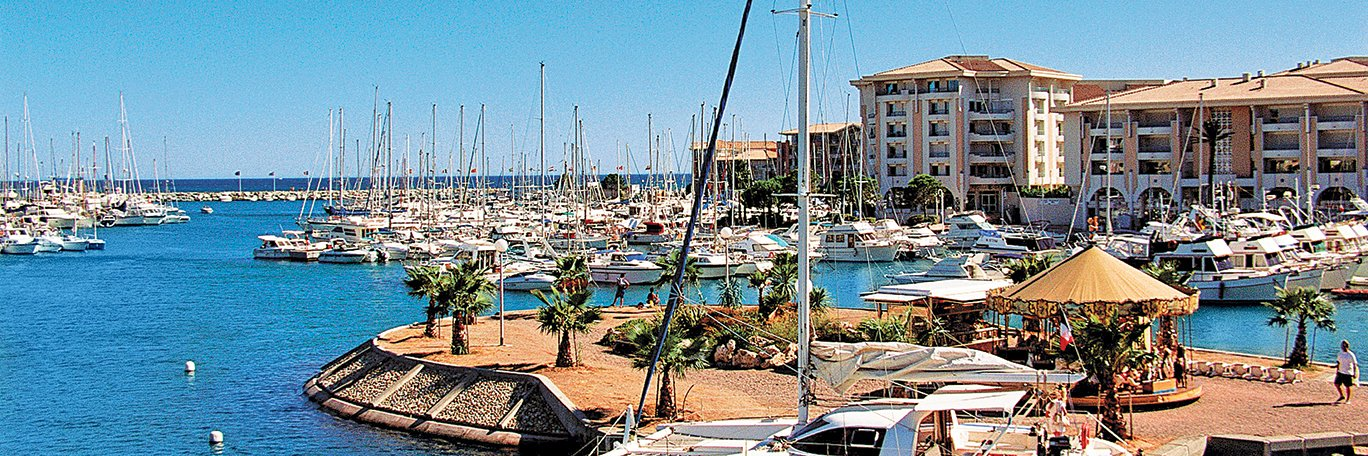 Vista panoramica Port-Frejus