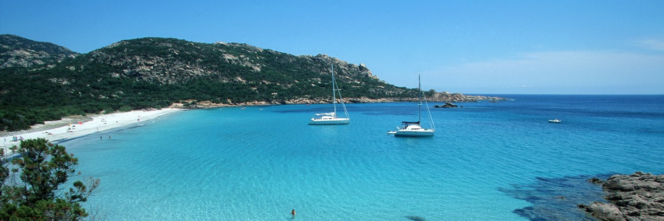 Panoramaaufnahme Korsika