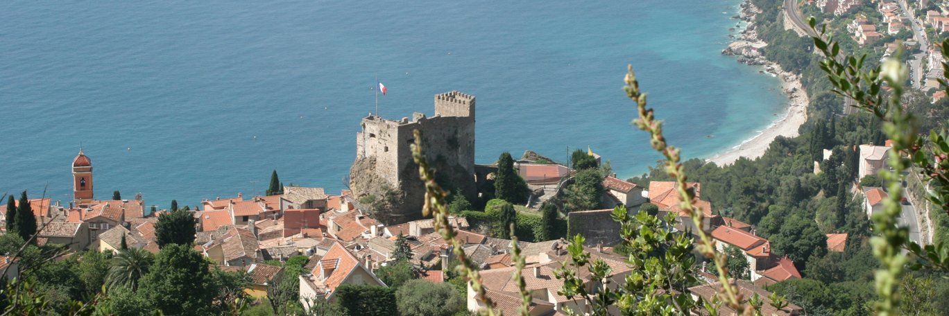 Panoramic visual Roquebrune Cap Martin