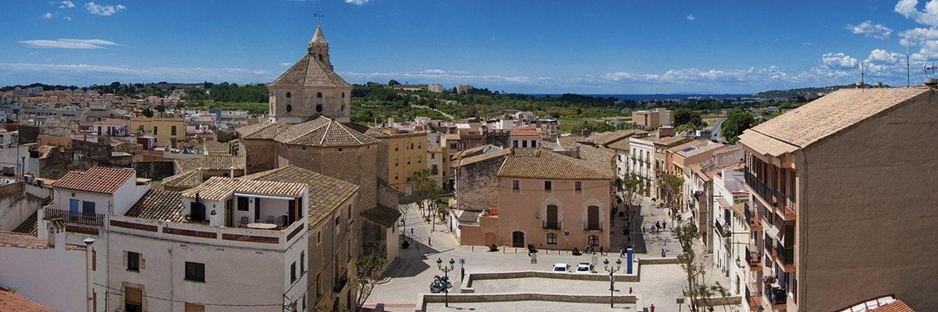 Panoramaaufnahme Torredembarra