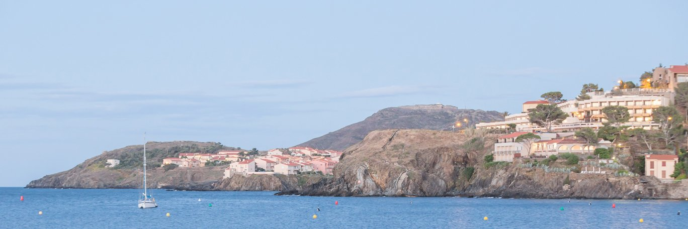 Panoramic visual Collioure