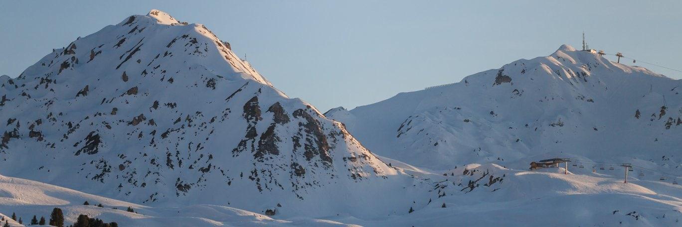 Panoramisch uitzicht Praz-De-Lys - Sommand