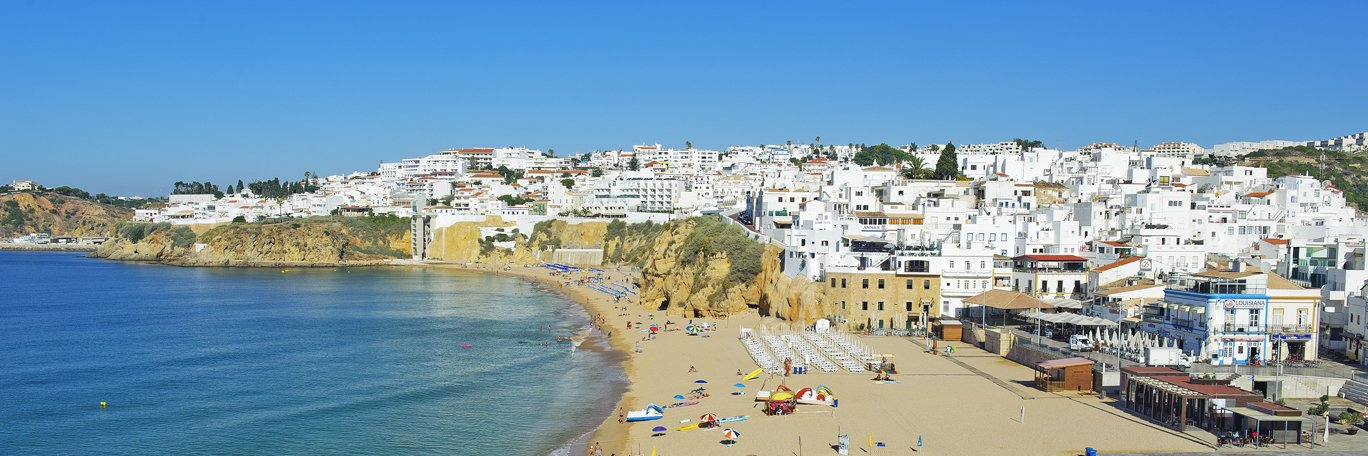Panoramic visual Albufeira
