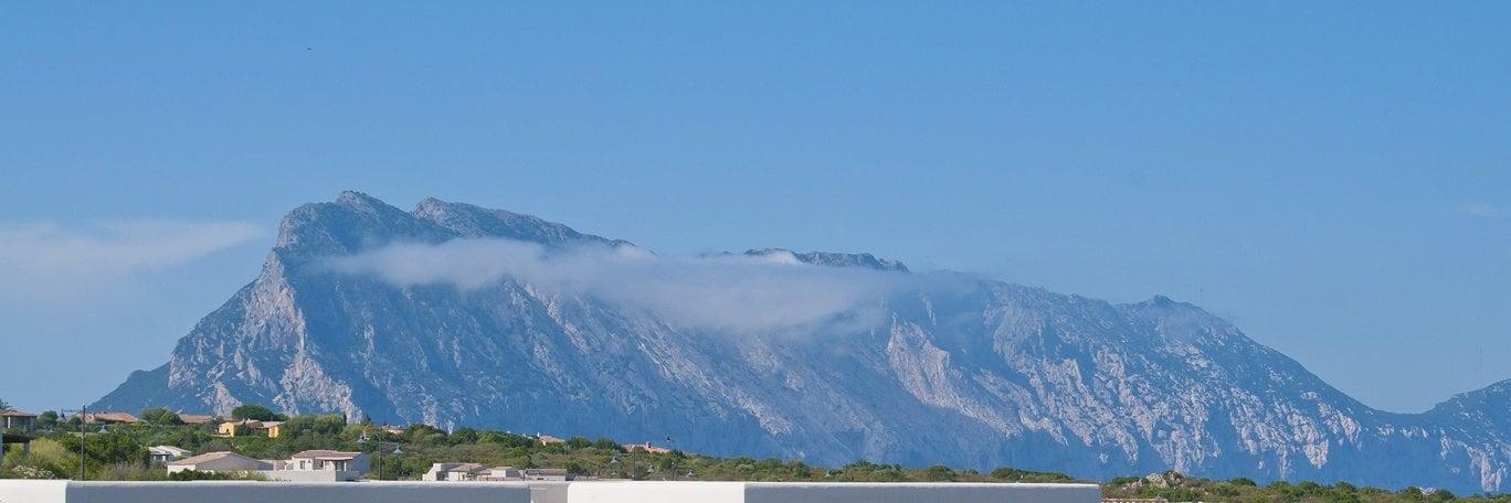 Panoramisch uitzicht Monte Petrosu