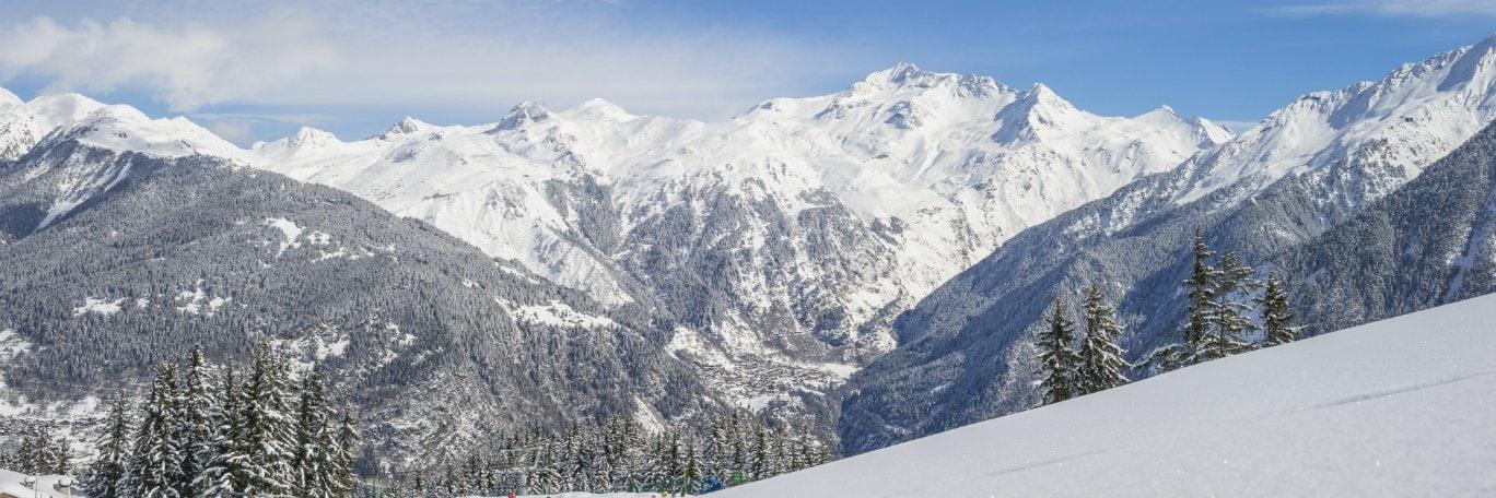 Vista panoramica Tignes Val Claret