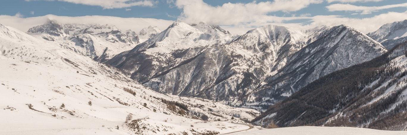 Panoramisch uitzicht La Forêt Blanche