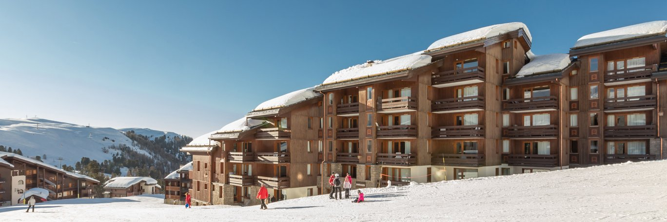 Accommodatie Émeraude Belle Plagne