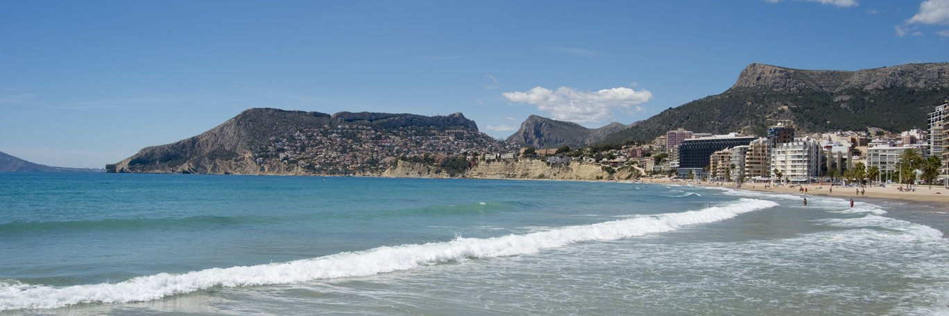Panoramic visual Calpe