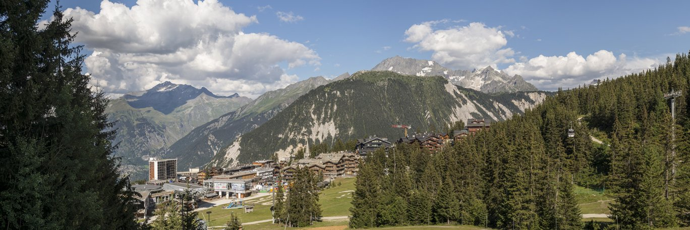 Vista panoramica Courchevel 1850