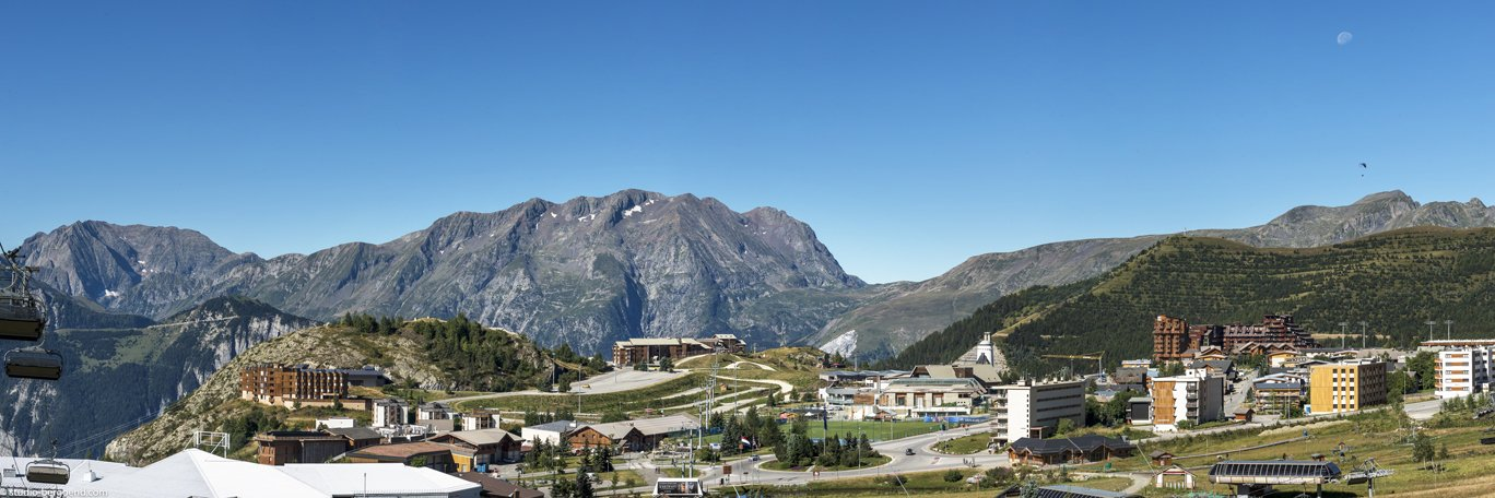 Panoramic visual L'Alpe-d'Huez