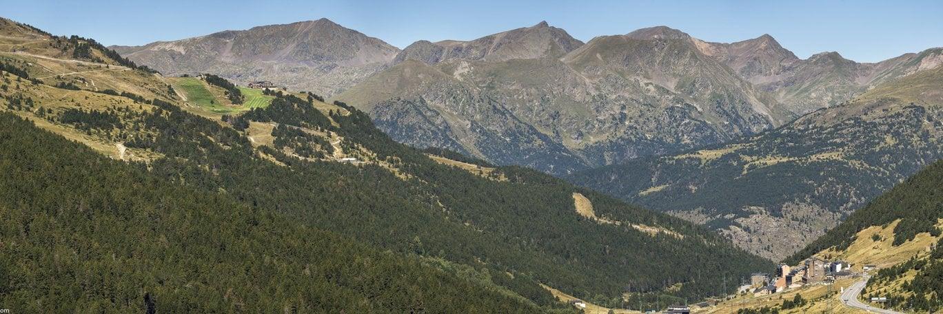 Panoramaaufnahme Grandvalira