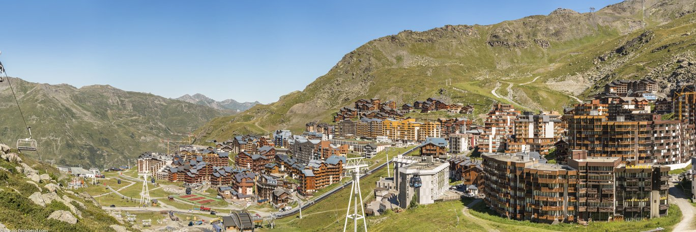 Panoramic visual Val Thorens