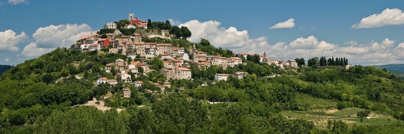 Panoramisch uitzicht Istrie