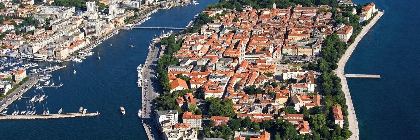 Panoramaaufnahme Zadar