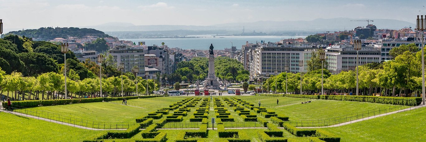 Panoramic visual Lisbon
