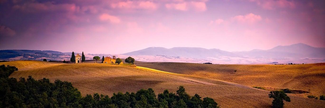 Panoramische Sicht Italien