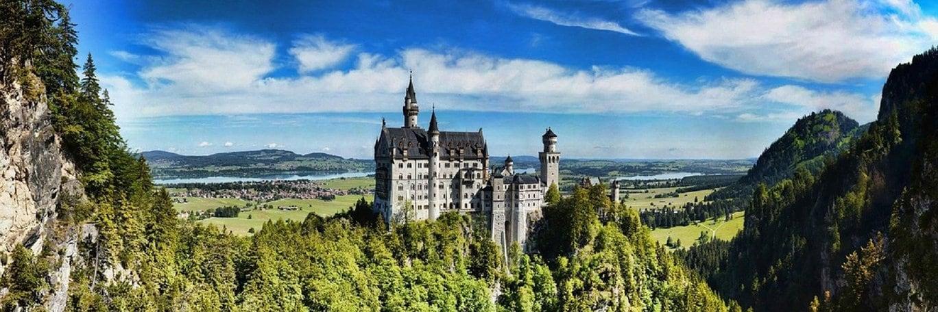 Visuel panoramique Bavière