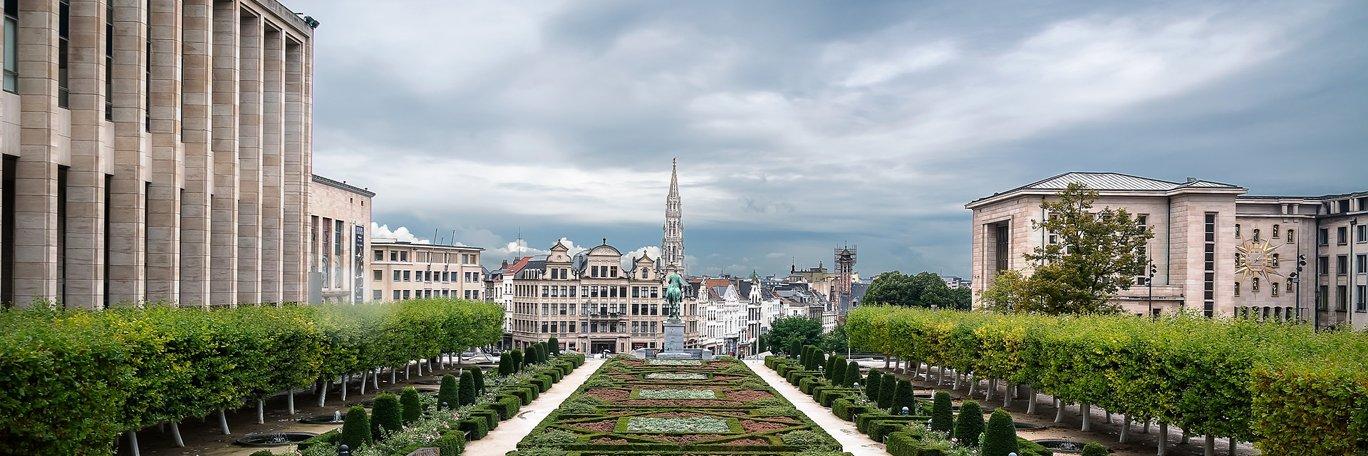 Vista panorámica Bruselas