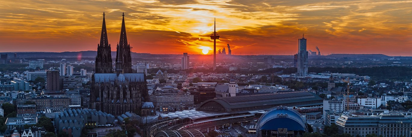 Panoramic visual Cologne