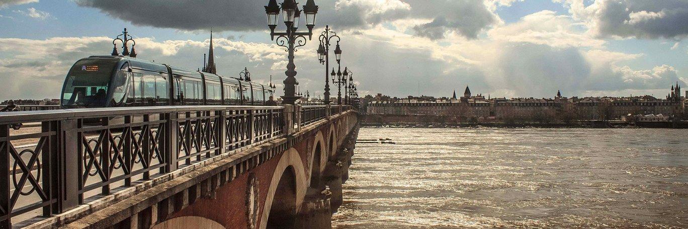 Panoramaaufnahme Bordeaux