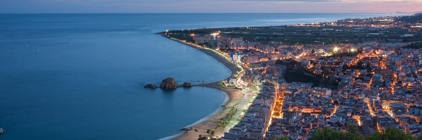 Panoramic visual Blanes