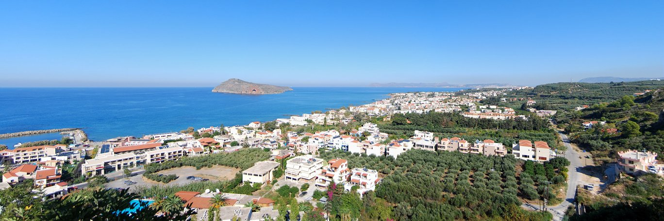 Panoramic visual Platanias
