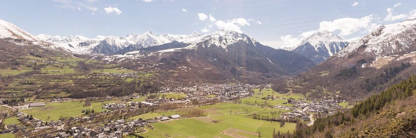 Vista panoramica Saint-Lary-Soulan
